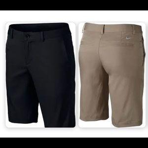 Boys Nike Flat Front Shorts